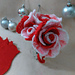 Peppermint Roses & Coasters pattern