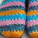 Easy Pattern For Self Striping Socks pattern