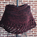 Quick Knit Lacy Capelet pattern
