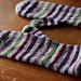 Striped Mittens according to Badegakk pattern