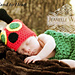 Hungry Caterpillar Hat and Cocoon set, single or twin pattern