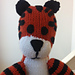 Knitted Hobbes Doll pattern