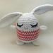 Bunny Cutie / Hæklet trøstedyr Kanin pattern