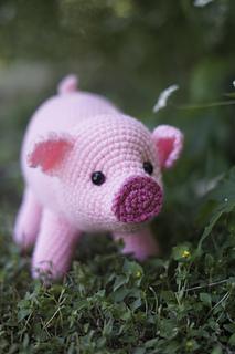 CROCHET toys pdf tutorial by LoopyPattern. Amigurumi pig , crochet ... | 320x213