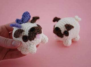 Ravelry: Pug Amigurumi Dog pattern by Helen Brady | 235x320