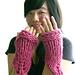 Chunky Knit Gauntlets pattern