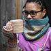 Arfordir Cowl and Mitts pattern
