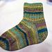 Seeded Rib Socks  pattern