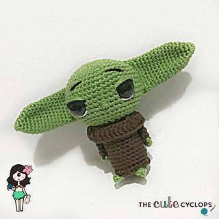 FREE AMIGURUMI PATTERN: Star Wars Yoda | Star wars crochet ... | 320x320