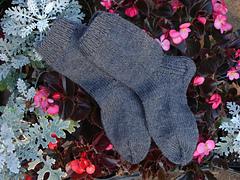 Gray Ragg Socks Take Two