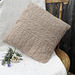 Gansey Style Cushion Cover pattern