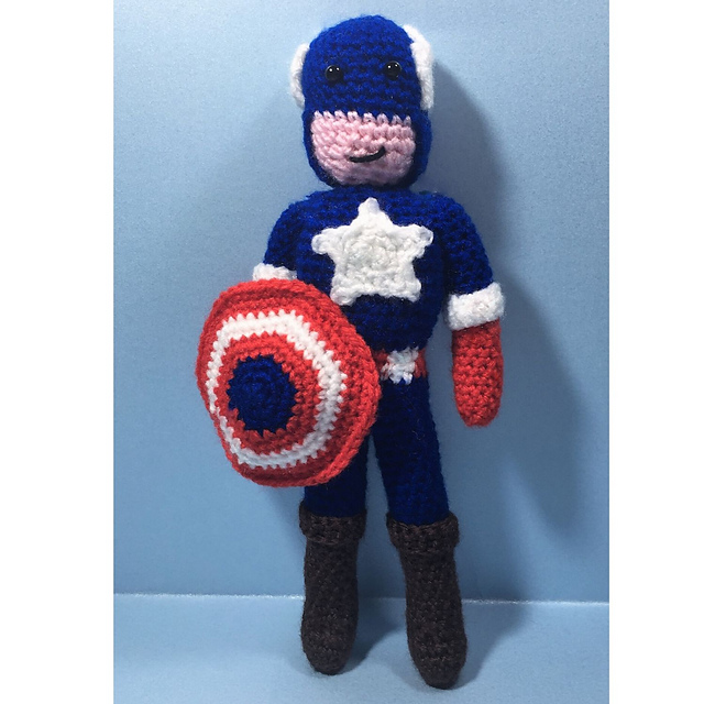 Earth's Mightiest Yarn Heroes: Free Crochet Avengers Patterns! | 640x640