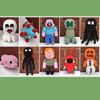 Crochet Minecraft Blanket Pattern | The Loopy Stitch | 320x320