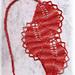 Lesezeichen Blätterreihe pattern