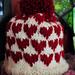 Baby Heart Hat pattern