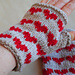 Heart Fingerless Mitts pattern