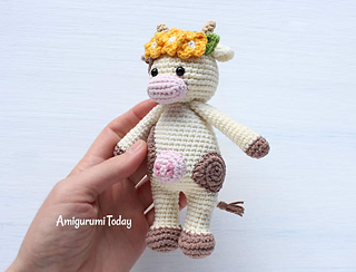 Cuddle Me Rhino amigurumi pattern - Amigurumi Today | 244x320