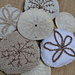 Christmas Sand Dollar Decoration pattern