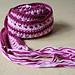 Lacy skinny scarf pattern