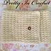 Pretty In Cream Cowl pattern