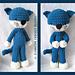 Cuddly Kitty Amigurumi pattern