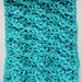 Funky Cable Twist Scarves pattern