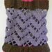 Chevron Lattice Bag pattern