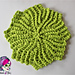 Circle Point Washcloth pattern