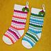 Fabulously Festive Christmas Stockings pattern