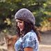Velvet Slouchy Hat pattern