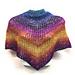 Mesh Triangle Shawl pattern