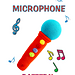 Colorful Microphone pattern
