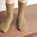 Hamantaschen Socks pattern