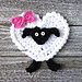 Heart Sheep Applique pattern