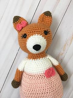 Ravelry: Fox Keychain pattern by Crochet at Teri's | 320x240