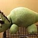 I'm A Dino Rawr: Triceratops pattern