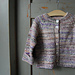 Melange baby Jacket pattern