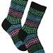 Simple Stripes Fair Isle Socks pattern