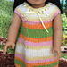"Rainbow Cone Dress for 18"" Dolls pattern"