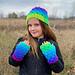 Sweet Stripes Fingerless Gloves pattern