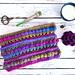 Colorscape Cowl pattern
