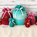 Sweet Stripes Gift Bags pattern