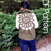 Sunflower Circular Vest pattern
