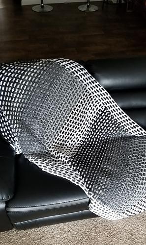 Crochet Mens Blanket pattern by GuChet 1  (Free)