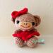 Addie the Monkey Amigurumi pattern
