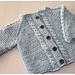 Magnus Jakke til baby pattern