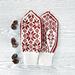 Nordic mittens pattern