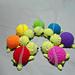 Rainbow Tiny-er Turtles pattern