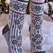 Advent og Jule sokker pattern
