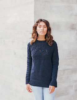 Mae Pullover pattern by Whitney Hayward
